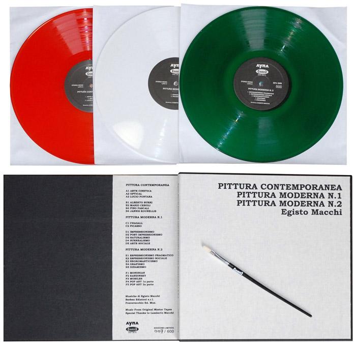 Pittura Contemporanea / Moderna N. 1 & 2 (Black vinyls)